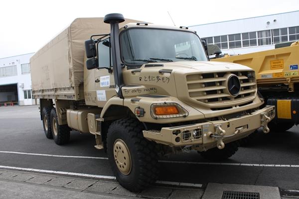 ダイムラーAG、災害支援車両50 ...